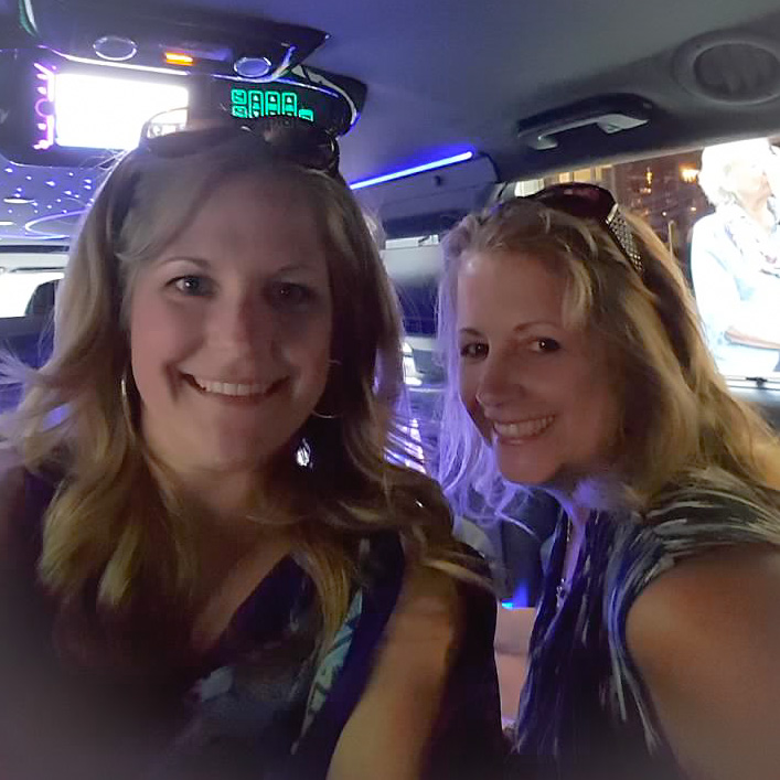 Limo ride to the airport