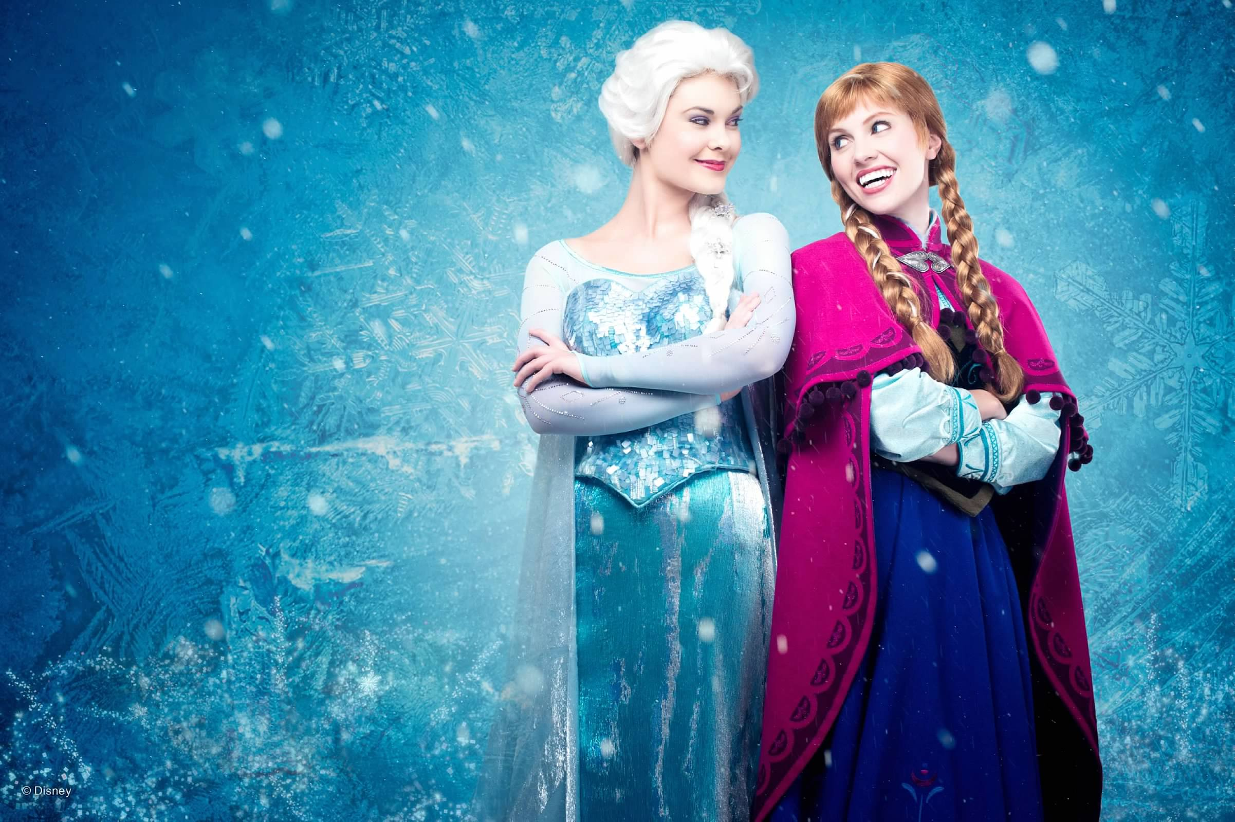 Queen Elsa & Princess Anna are located in Norway's Pavilion in Epcot's World Showcase